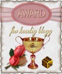 Award: Koselig blogg