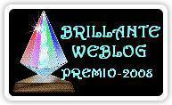 Award: Brilliante Weblog 2008